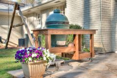 Big Green Egg Table Finished-2